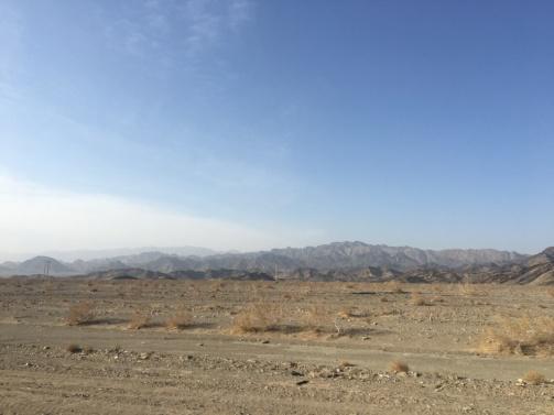 Wüstenlandschaft.
