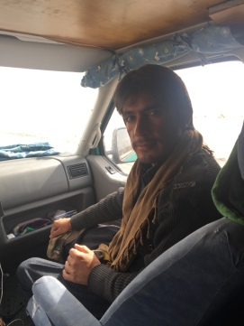 Der erste Levis-Beifahrer: Abdullah.