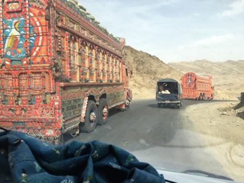 Verkehr in Belutschistan.