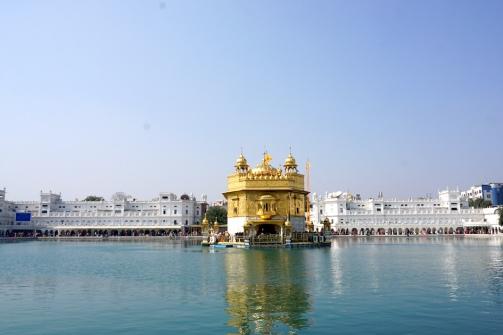Der Goldene Tempel.