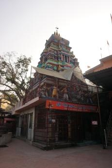 Der Tempel.
