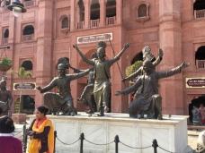 Amritsar Innenstadt.