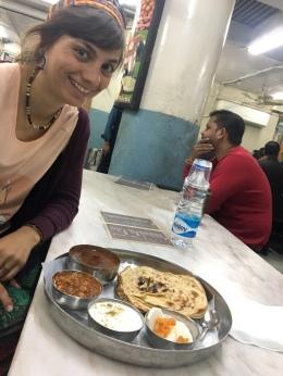 Indisch essen.