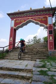 Einfahrt nach Bandipur.