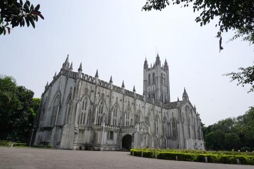 St. Paul's Kathedrale in Kalkutta.