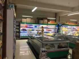 Wann immer wir einen Supermarkt finden bleiben wir auch prompt hängen.