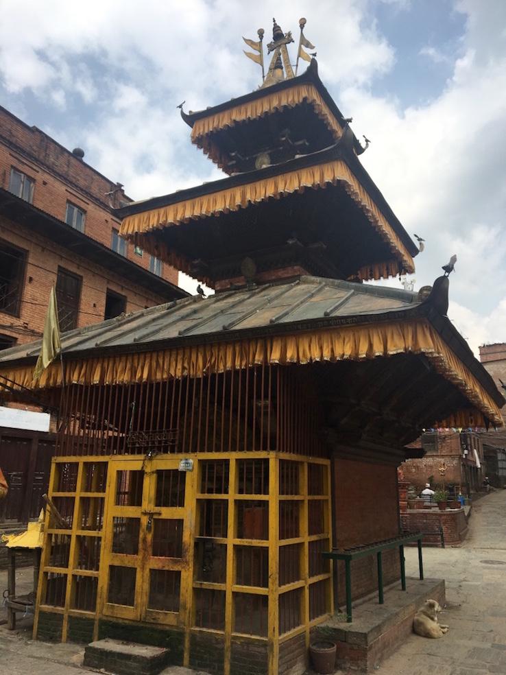 Tempel in Dhulikhel.