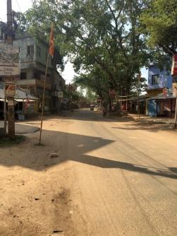 Feiertag in Shantiniketan.