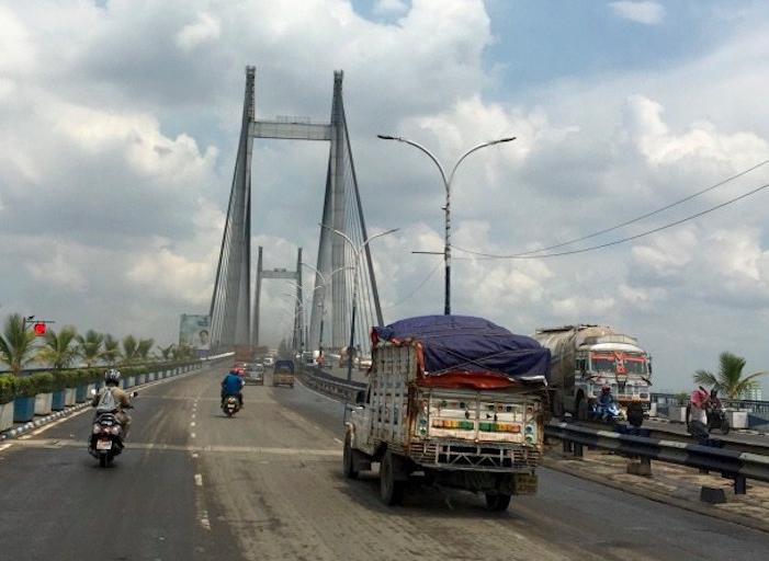 Vidyasagar-Brücke, Kolkatta