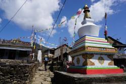 Die Stupa.