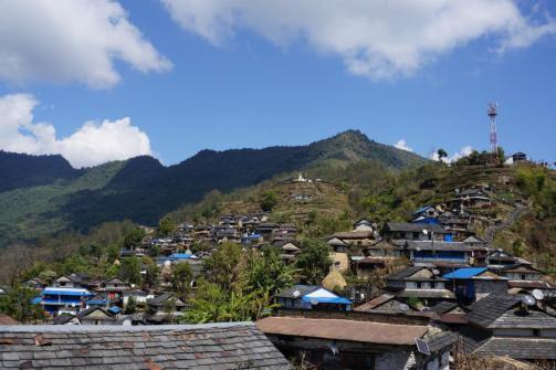 Das Dorf Pasagong.