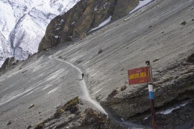 Landslide Area.