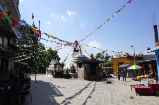 Stupa bei Namo Buddha.