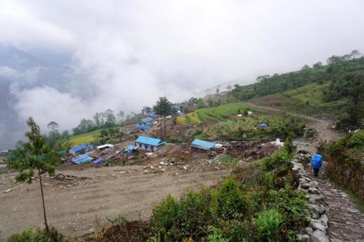 Das Dorf Nunthala.
