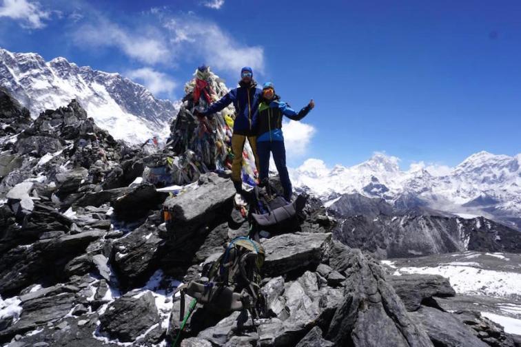 Geschafft. Kongma La (5535 Meter)