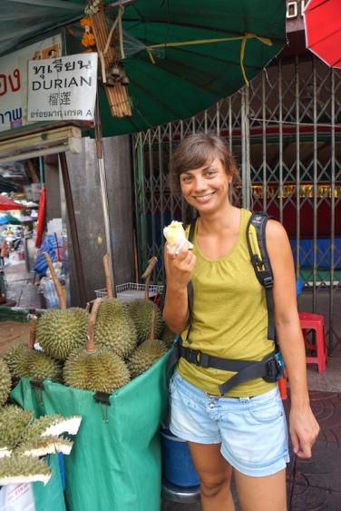 Durian für Zwischendurch.