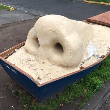 Kunst im Barrio Italia.