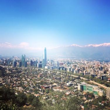 Aussicht vom San Cristobal.