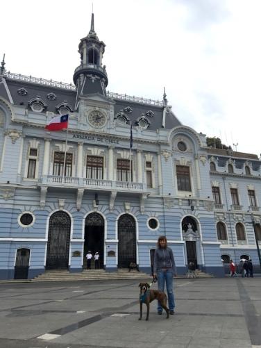 Für den Papierkram nach Valparaiso.