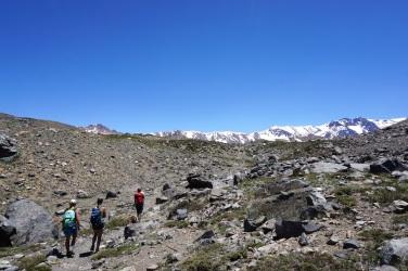 Trail zur Laguna Negra.