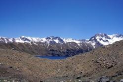 Erster Blick auf die Laguna Negra.