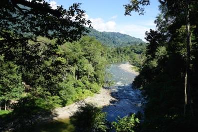 Flusstal auf dem Weg.