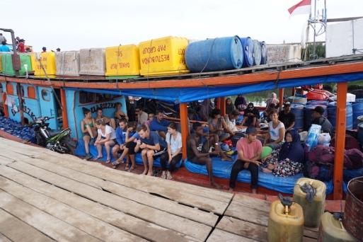 Fischerboot auf die Inseln.