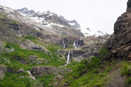 Noch mehr Wasserfälle.
