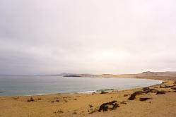 Kilometerlanger Sandstrand.
