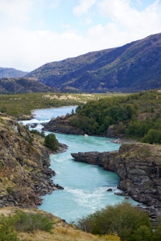 Der Río Baker nach dem Zusammenfluss.