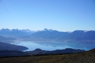 Lago Carrera Austral.