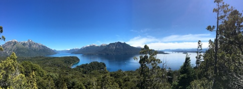 Versöhnlicher Wandertag in Bariloche.